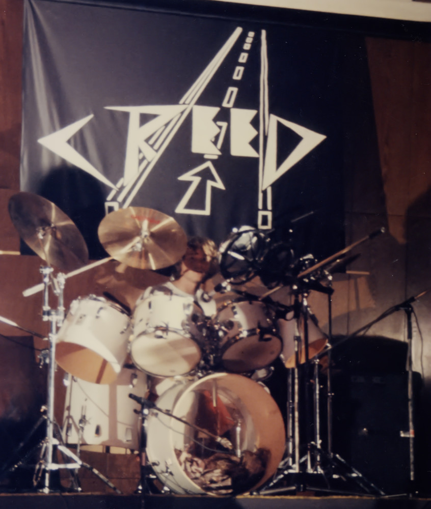 Creed drums first Concert