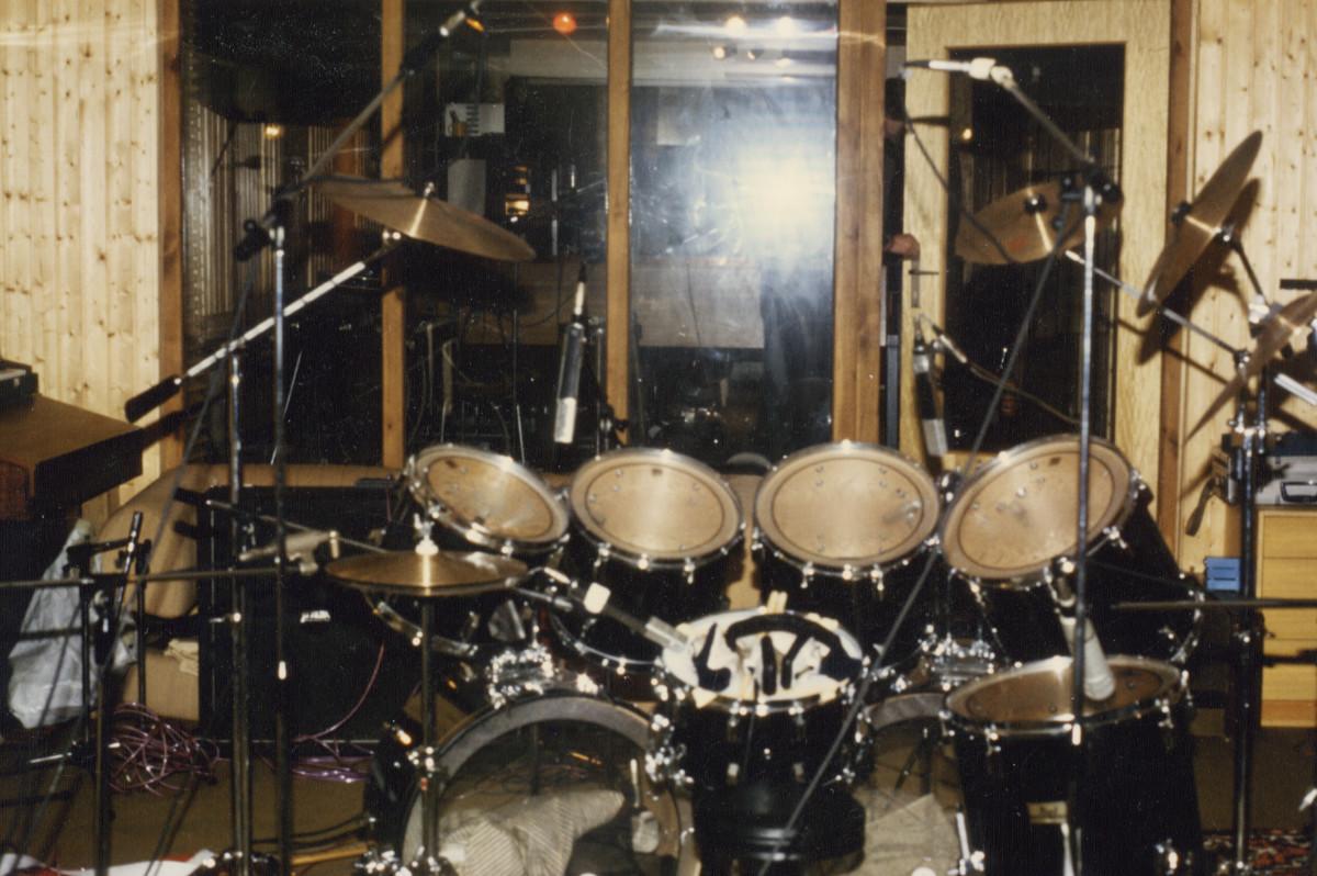 Creed studio drums