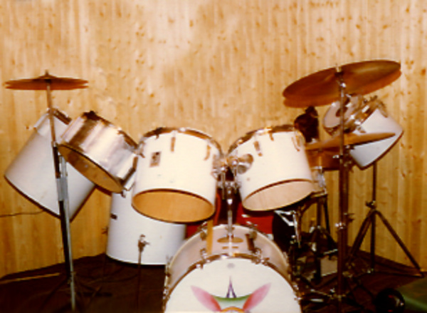 First real Drumset