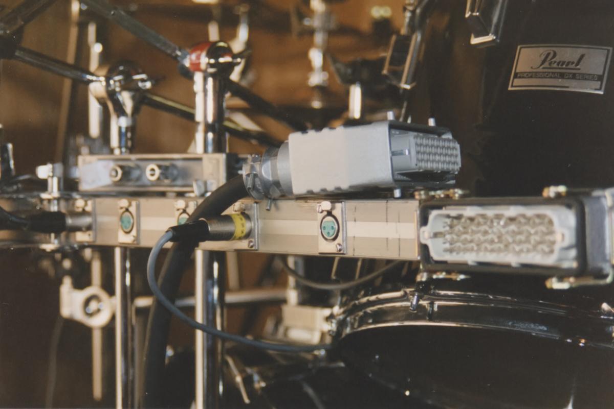 Drums Pearl Multicore in Rack