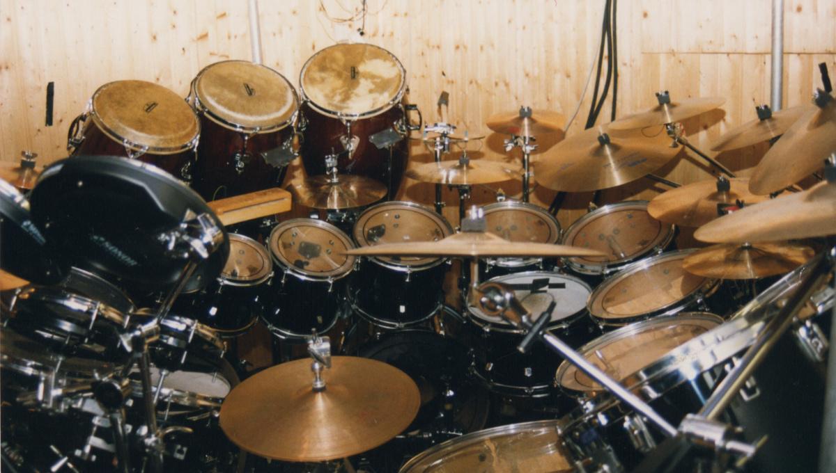 Drums Pearl big setting
