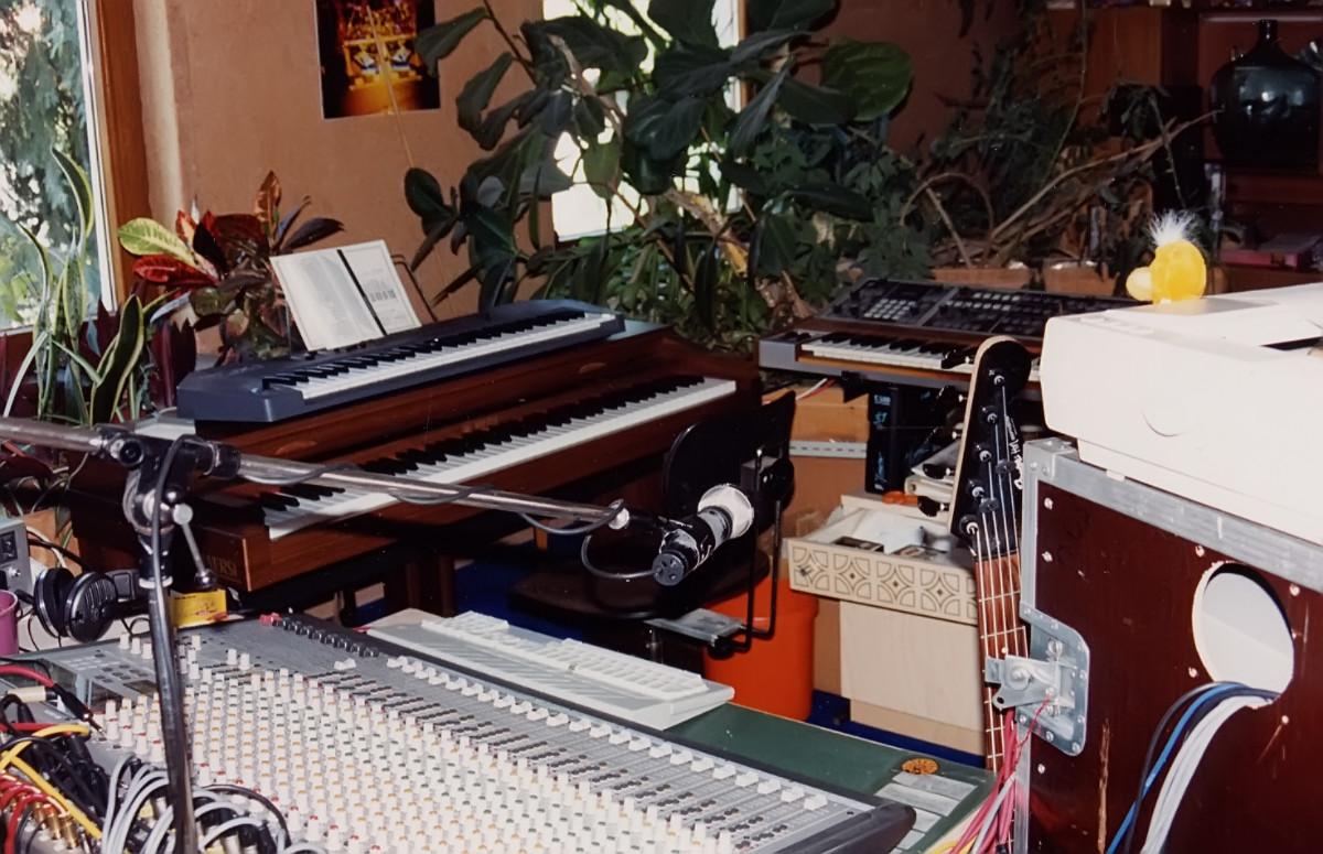 Studio with Keys